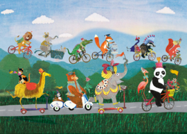Grootzus | Kaart fietsparade