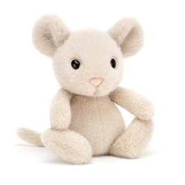 JELLYCAT | Knuffel Fuzzle mouse - muis