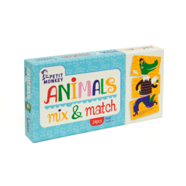 PETIT MONKEY SPEL ANIMALS MIX