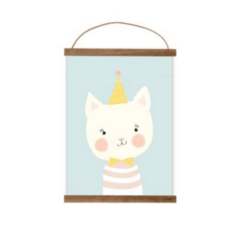 MIMIRELLA | Poster juffrouw kat