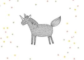 MIJKSJE | Kaart unicorn