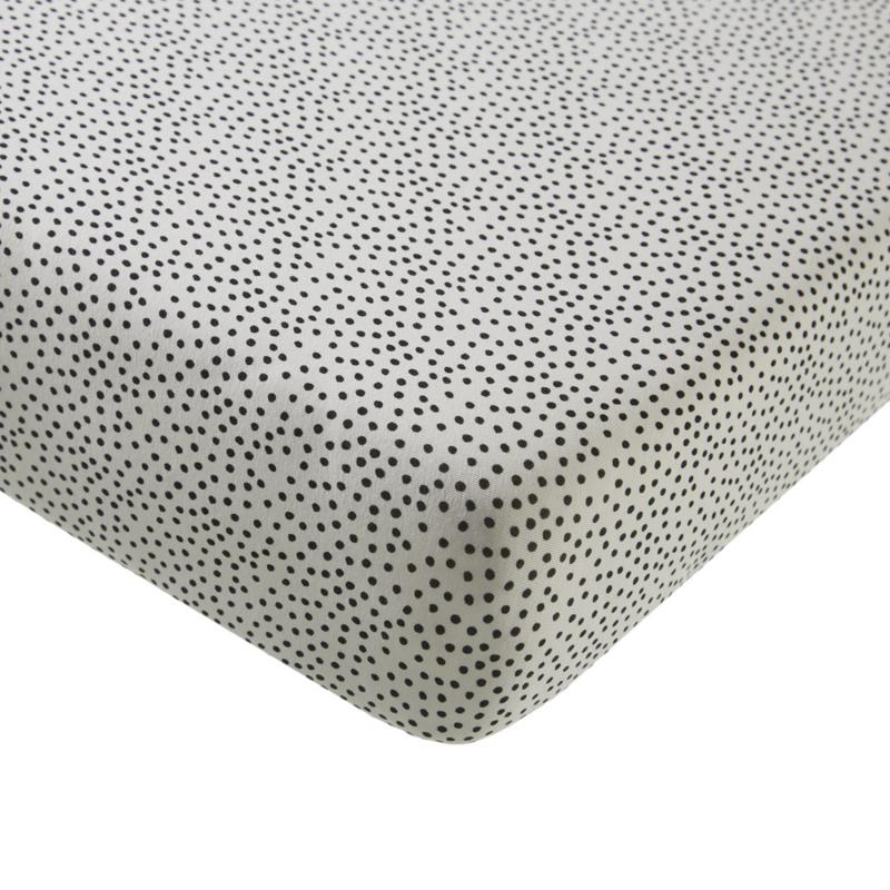 MIES & CO BABYLIFESTYLE   ledikant hoeslaken cozy dots