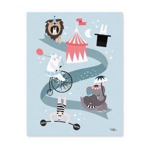 MICHELLE CARLSLUND | Poster circus friends