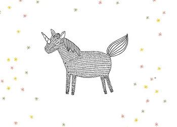 MIJKSJE   Kaart unicorn
