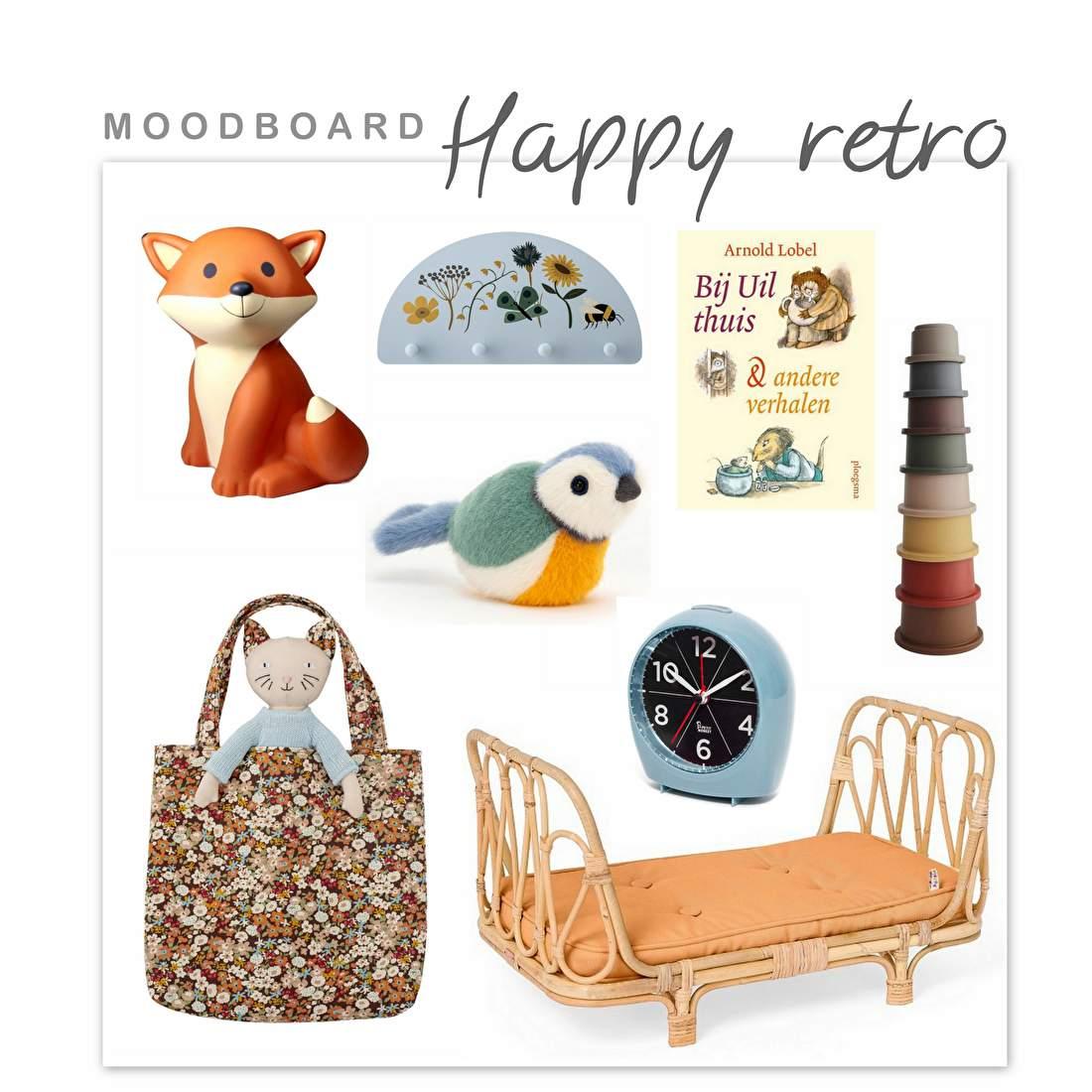 MOODBOARD | Happy Retro