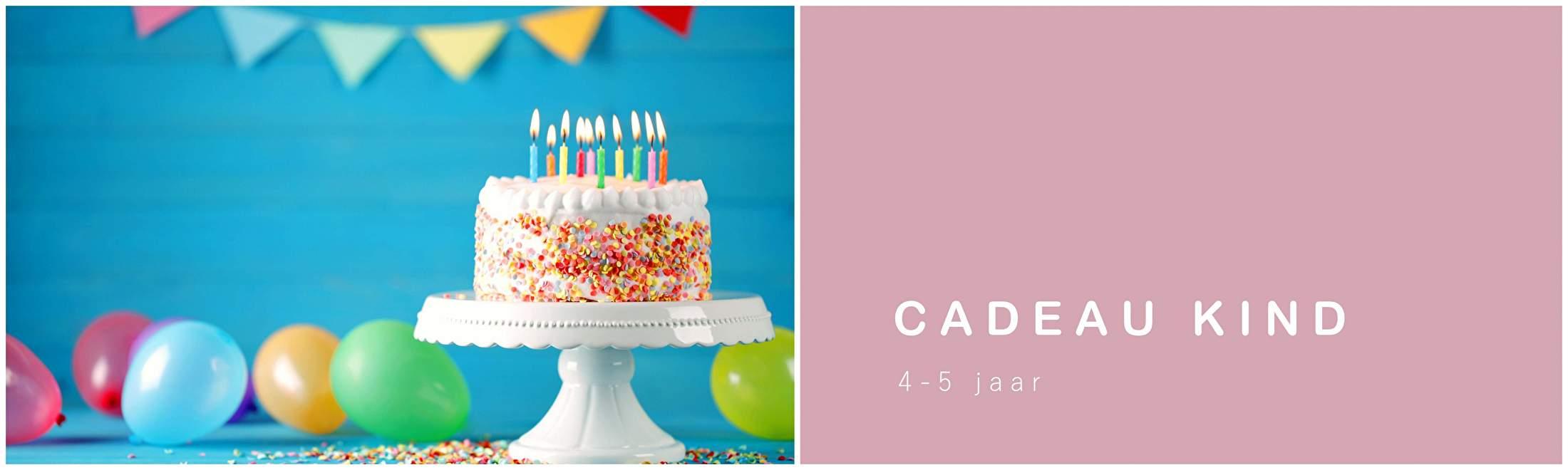 CADEAU KIND 4-5 jaar