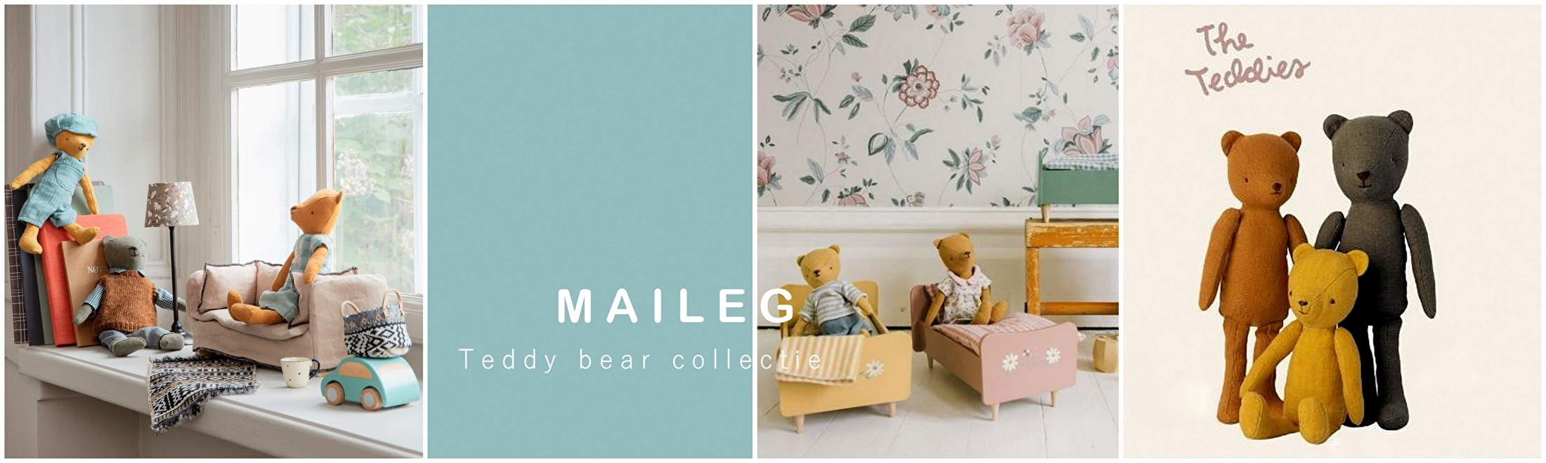 MAILEG TEDDY BEAR COLLECTIE