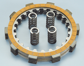 Polini koppelingsplaatset AM6 motorblok