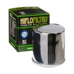 Oil filter HF303C (chroom)