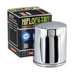 Oil filter HF171C 'chroom'