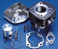 Polini kit cylindre 49cc AC minarelli horizontal fonte