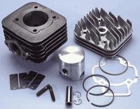 Polini kit cilinder piaggio d.47mm (70cc)