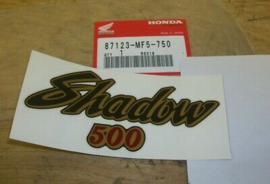 Honda VT500 sticker orig. part nr. 87123-MF5-750