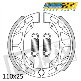 IGM brake shoes GY6 rear