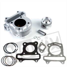 Airsal cyl. kit GY6 49cc  39mm, piston axl dia. 13mm