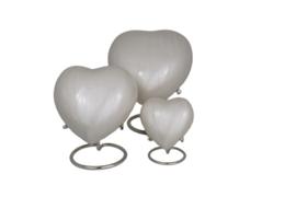 Aluminium Hart Wit ( cream )  incl. standaard 10886
