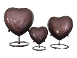 Aluminium hart donker bruin incl.  standaard 10624
