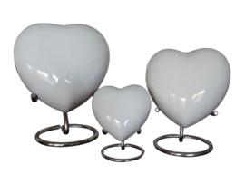 Aluminium hart ( Gespoten ) kleur Wit incl. standaard  10618