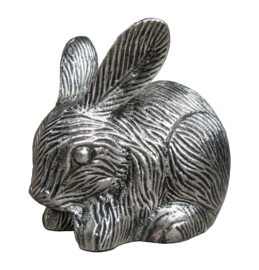 Rabbit Silver Antique 10597-SA