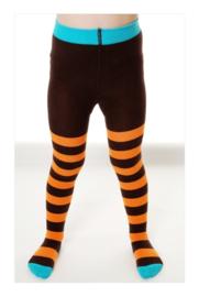 Kindermaillot - oranje bruin