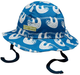 Loud+Proud zomerhoedje - blauwe luiaards