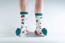 Doris & Dude sokken - lieveheersbeestjes