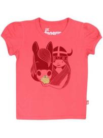 Danefae t-shirt - Roze viking