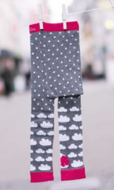 Kinderleggings - wolken