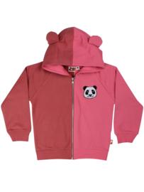 Kinder vest - roze panda