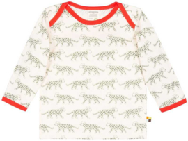Loud+Proud shirt - olijf luipaarden