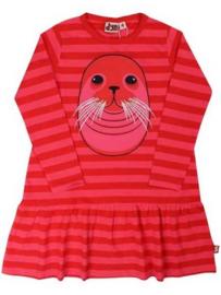 Dyr jurk - roze zeehond