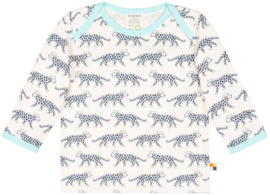 Loud+Proud shirt - blauwe luipaarden
