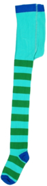 Kindermaillot - groen gestreept