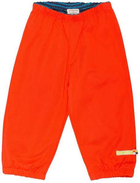 kinder regenbroekje - oranje