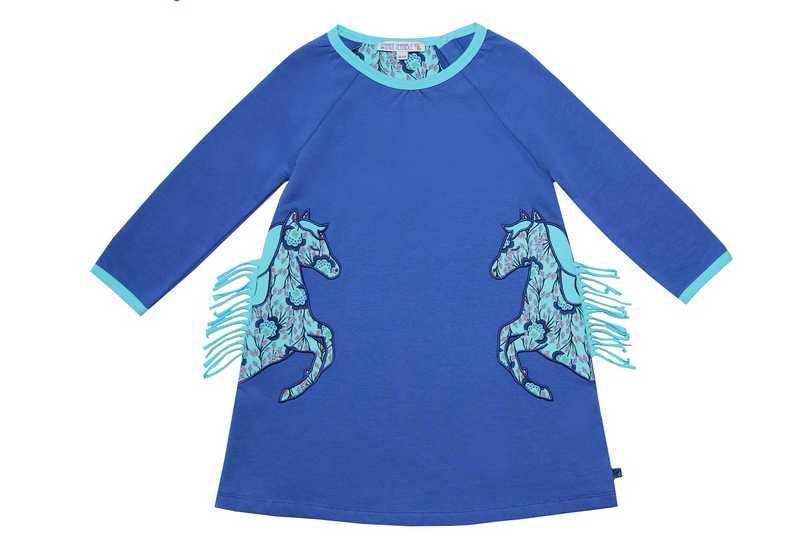 Kinderjurk - paarden