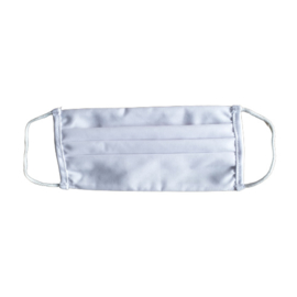 Mondmasker BG Blanco wit met elastieken - Heel licht en comfortabel