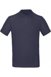 CGPM430 Polo Organic heren - Navyblauw