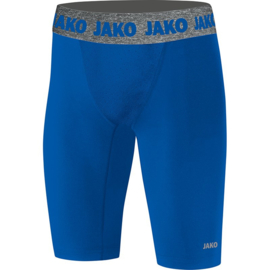 Short Tight Compression 2.0 kids blauw