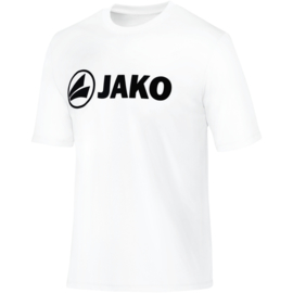 Promo sportshirt  Polyester interlock JAKO 6164-00 Wit