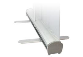 Rolbanner transparant 100x200 cm