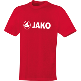 Katoenen T-shirt promo  rood (kids, unisex)