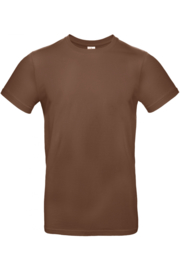 T-shirt B&C Chocolade