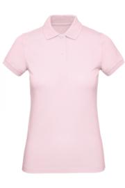 CGPW440 Polo Organic dames - Pink roze