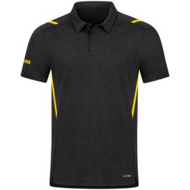 6321-505 Polo Challenge Zwart gemeleerd citroen