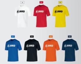 Polyester interlock sportshirt promo met borstlogo Jako (unisex, kids)