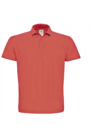CGPUI10 Polo heren - Pixel Coral