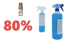 Desinfectie - Professioneel gebruik 80%