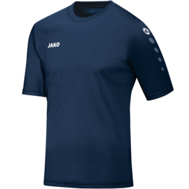 Shirt Team KM Navy/Marine  (kids, dames, heren)