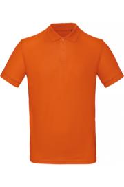 CGPM430 Polo Organic heren - Urban Oranje