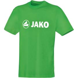 Katoenen T-shirt promo  Zachtgroen (kids, unisex)